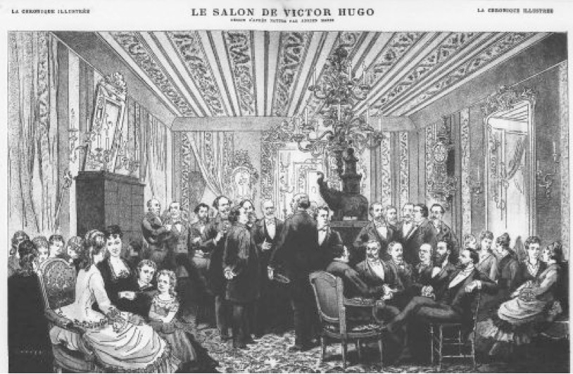 Le salon de Victor Hugo